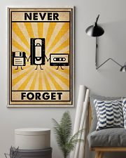 Never Forget 16x24 Poster lifestyle-poster-1