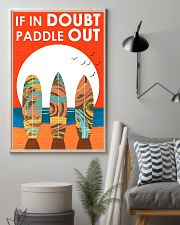 Surfing In Doubt Paddle Out  16x24 Poster lifestyle-poster-1