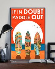 Surfing In Doubt Paddle Out  16x24 Poster lifestyle-poster-2