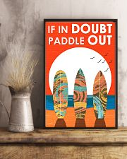 Surfing In Doubt Paddle Out  16x24 Poster lifestyle-poster-3