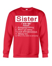 Sister Crewneck Sweatshirt front
