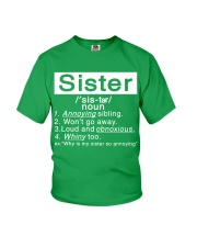 Sister Youth T-Shirt front