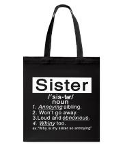 Sister Tote Bag thumbnail