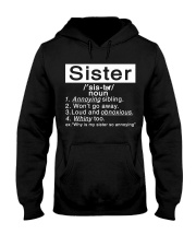 Sister Hooded Sweatshirt front