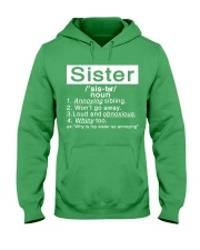 Sister Hooded Sweatshirt front