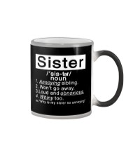Sister Color Changing Mug thumbnail
