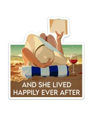 Ocean Happily Ever After Sticker - Single (Vertical) front