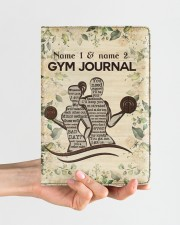 Gym Journal Medium - Leather Notebook aos-medium-leather-notebook-lifestyle-front-01