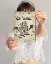 Gym Journal Medium - Leather Notebook aos-medium-leather-notebook-lifestyle-front-09