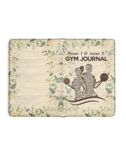 Gym Journal Medium - Leather Notebook full
