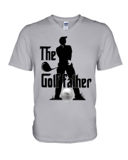 The golf father V-Neck T-Shirt thumbnail