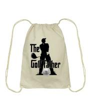 The golf father Drawstring Bag thumbnail