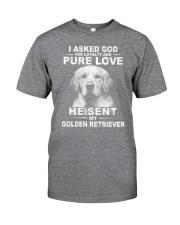 Golden retriever Classic T-Shirt thumbnail