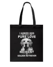 Golden retriever Tote Bag thumbnail