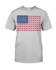 beagle flag Classic T-Shirt thumbnail