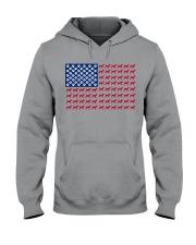 beagle flag Hooded Sweatshirt thumbnail