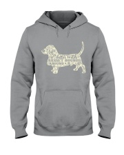 Life is better with basset hounds around Hooded Sweatshirt thumbnail
