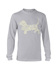 Life is better with basset hounds around Long Sleeve Tee thumbnail