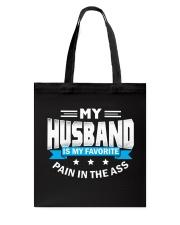 My husband is my favorite Tote Bag thumbnail