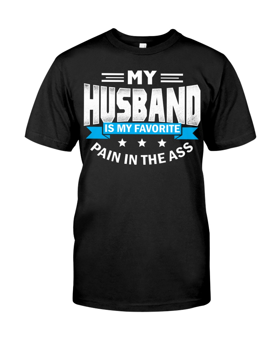 My husband is my favorite Classic T-Shirt