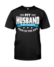 My husband is my favorite Classic T-Shirt front