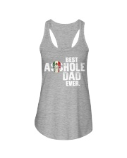 Best Asshole Dad ever Ladies Flowy Tank thumbnail