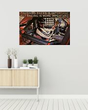 Racing Finishing Races Is Important 36x24 Poster poster-landscape-36x24-lifestyle-01