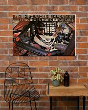 Racing Finishing Races Is Important 36x24 Poster poster-landscape-36x24-lifestyle-20