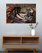 Racing Finishing Races Is Important 36x24 Poster poster-landscape-36x24-lifestyle-21