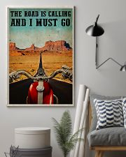 Biker The Road Is Calling 16x24 Poster lifestyle-poster-1