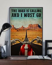 Biker The Road Is Calling 16x24 Poster lifestyle-poster-2