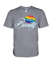 Beauty V-Neck T-Shirt thumbnail