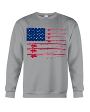 Fishing flag Crewneck Sweatshirt thumbnail