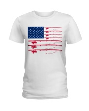 Fishing flag Ladies T-Shirt front