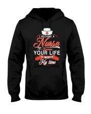 I became a nurse Hooded Sweatshirt thumbnail
