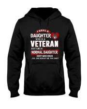 I have a daughter who is a veteran Hooded Sweatshirt thumbnail