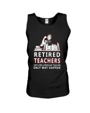 Retired teachers Unisex Tank thumbnail
