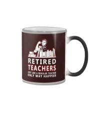 Retired teachers Color Changing Mug thumbnail