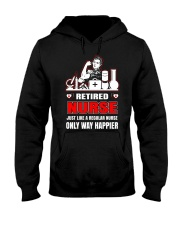Retired Nurse Hooded Sweatshirt thumbnail