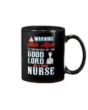 Warning - Crazy nurse Mug thumbnail