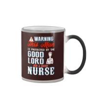 Warning - Crazy nurse Color Changing Mug thumbnail