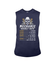 Mechanic Hourly Rate T-Shirt Sleeveless Tee thumbnail