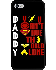 You Cant Save The World Alone Phone Case thumbnail