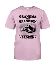 Grandma and Grandson Classic T-Shirt front