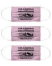 Grandma and Grandson Cloth Face Mask - 3 Pack thumbnail