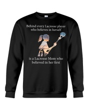 Lacrosse Mom Crewneck Sweatshirt thumbnail