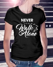 Never Walk Alone Ladies T-Shirt lifestyle-women-crewneck-front-7