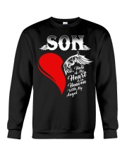 Son Half of My Heart is in Heaven Crewneck Sweatshirt thumbnail
