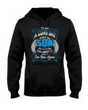 It's been a long day without you son Hooded Sweatshirt front
