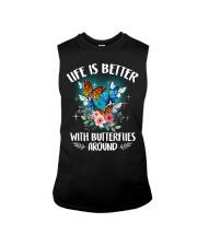 Life is better with butterflies around Sleeveless Tee thumbnail